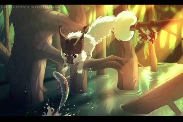 springtime flood by Grypwolf