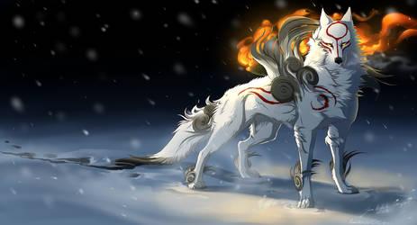 Okami - Sun Within.... by Grypwolf