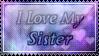 I love my sister by SquallxZell-Leonhart