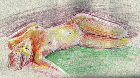 Nude by crackwalker