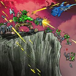 Space Orks by crackwalker