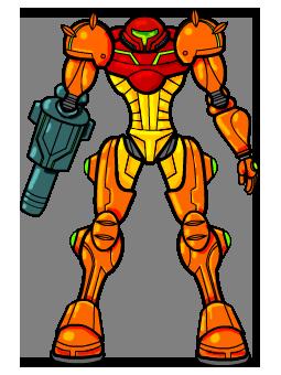 Metroid by crackwalker