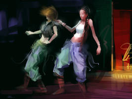 Reggae Dancer by zhuzhu