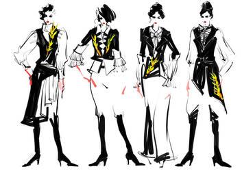Suit-dress by zhuzhu