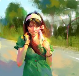 Summer Time by zhuzhu
