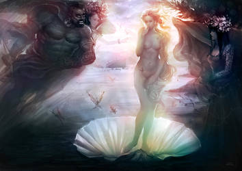 The Birth of Venus by zhuzhu
