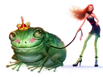 The Frog Prince by zhuzhu