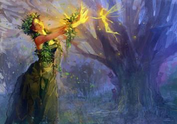Queen of Jungle by zhuzhu
