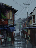 After Rain by zhuzhu
