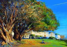 Big Tree by zhuzhu