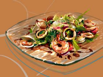 Salad by zhuzhu