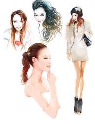 Sophia Choi by zhuzhu