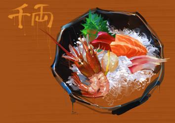 Sashimi by zhuzhu