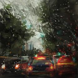 raining by zhuzhu