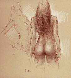 Nude Studies by zhuzhu