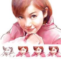 Pretty Girl by zhuzhu