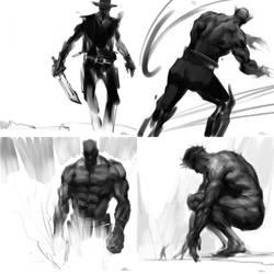 OC doodles dump 10 by zhuzhu