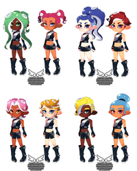 Octo Hair Styles (12 7 2018) by theskywaker