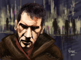 BLADE RUNNER: Deckard by philippeL