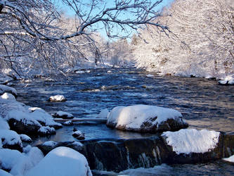 Winterland Stream Stock by philippeL