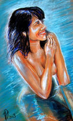 Bathing Charm by philippeL