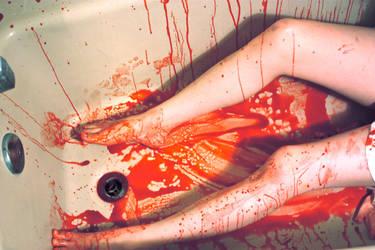 Bloody Mess by depressedfallenangel