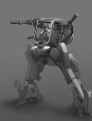 finally a mech with guns by omi-kun