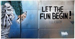 Let the fun begin ! by TheArtofBlouh