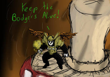 Save the Badgers by monkanian