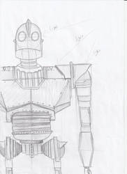 Iron Giant Sketch #1 by RaynaOfTheDead