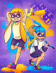 THOSE SQUID KIDS by SteveHoltisCool