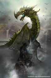 Dragon by danielmchavez