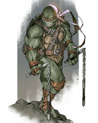 TMNT Michelangelo by danielmchavez