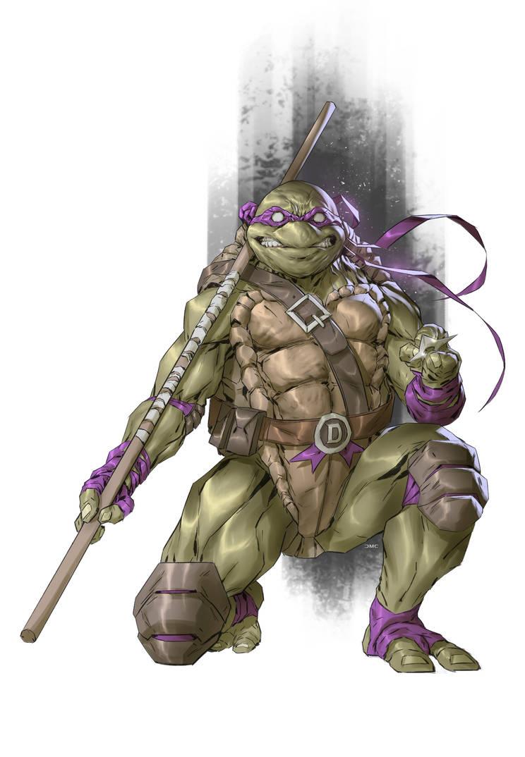 TMNT Donatello by danielmchavez