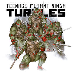 Teenage Mutant Ninja Turtles 1984 Version by danielmchavez