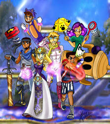 Super Smash Squad by KateSempai46