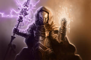 Battle Mage by RobTromans