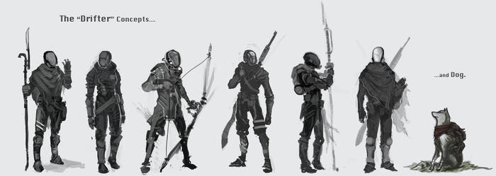 The 'Drifter' concepts by Parkhurst