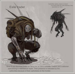 Machine Exile Peddler by Parkhurst