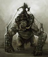 Troll Jockey by Parkhurst