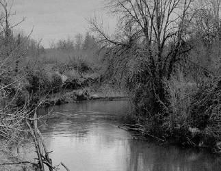 Of dark cold waters... by thewolfcreek