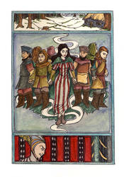 Snow White - Dwarves by inasmuch