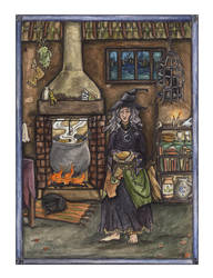 The Witch's Cottage by inasmuch
