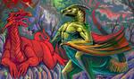 Dragon's Den by BurningGates-Artists