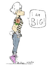 I am big! by Love-Link