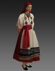 XIXc southern russian costume by VardasTouch