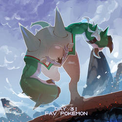 Poketober Day 3: Favorite Pokemon by Billiam-X