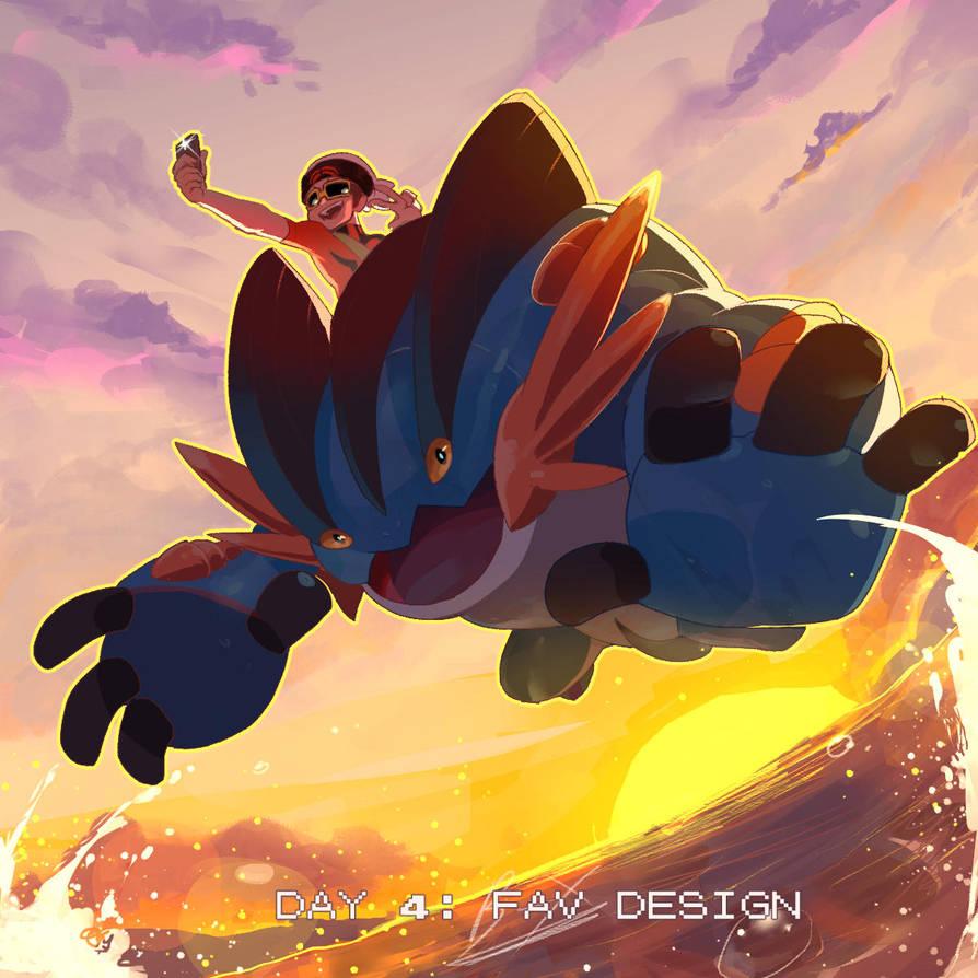 Poketober Day 4: Favorite Pokemon Design by Billiam-X