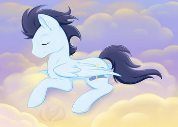 Resting On A Cloud by raininess