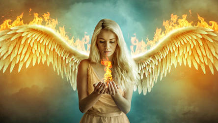Fire Angel by cindywoo